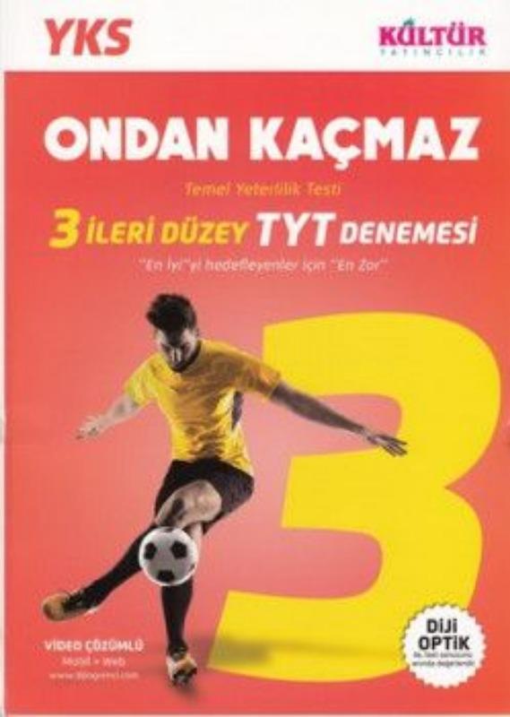 Kültür Yayınları TYT 3 İleri Düzey Denemesi