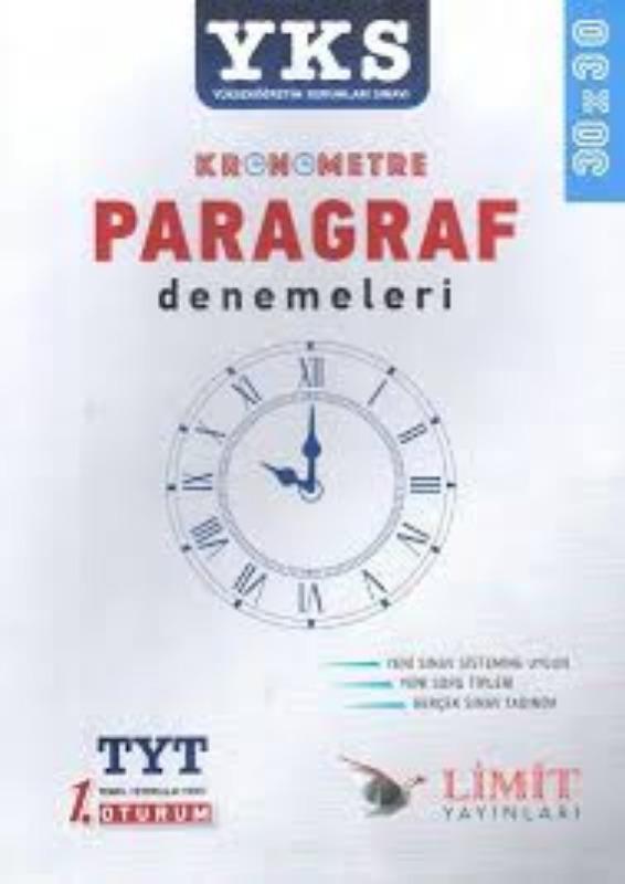 Limit Yayınları TYT Kronometre Paragraf Denemeleri