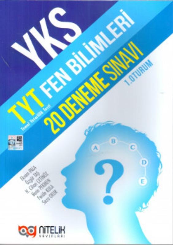Nitelik Yayınları TYT Fen Bilimleri 20 Deneme Sınavı