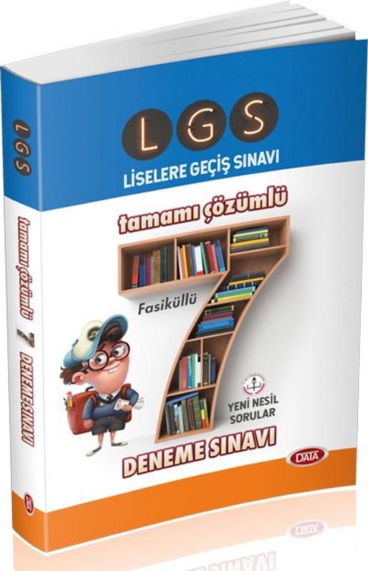 LGS Tamamı Çözümlü 7 Deneme Sınavı  Editör Yayınları