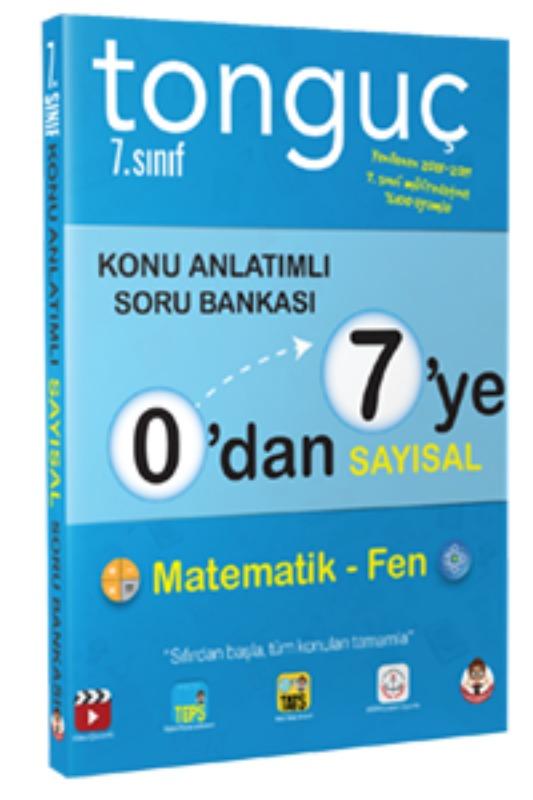 Tonguç Yayınları 0dan 7ye Sayısal Konu Anlatımlı Soru Bankası