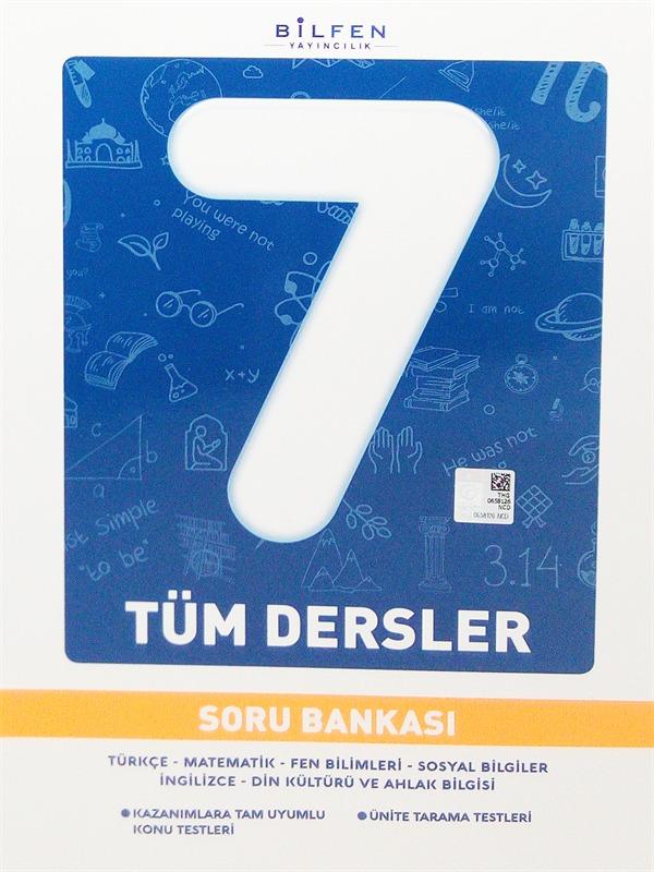 Bilfen Yayınları 7. Sınıf Tüm Dersler Soru Bankası