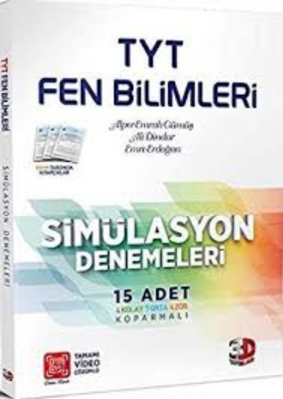 Çözüm Yayınları TYT Fen Bilimleri Simülasyon Denemeleri