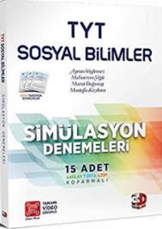 Çözüm Yayınları TYT Sosyal Bilimler Simülasyon Denemeleri