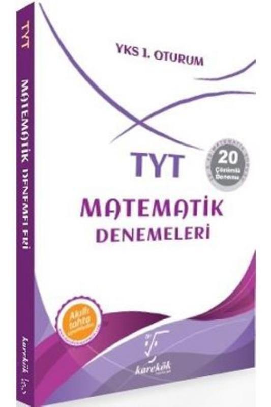 Karekök Yayınları  TYT Matematik Denemeleri