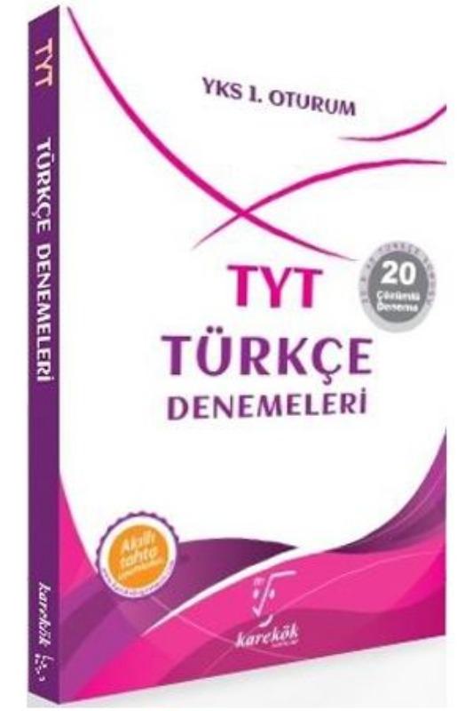 TYT Türkçe Denemeleri Karekök Yayınları