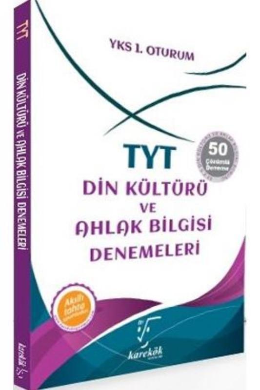 TYT Din Kültürü ve Ahlak Bilgisi Denemeleri Karekök Yayınları