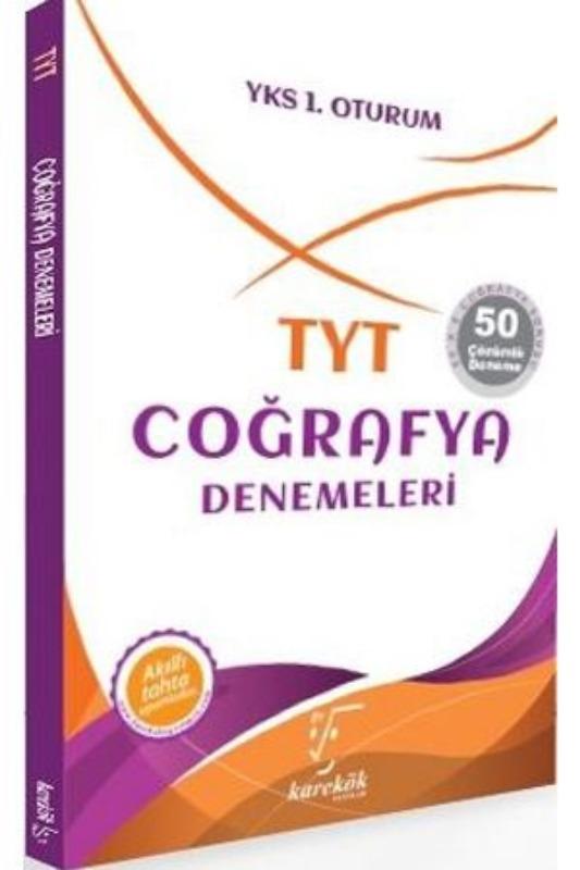 TYT Coğrafya Denemeleri Denemeleri Karekök Yayınları
