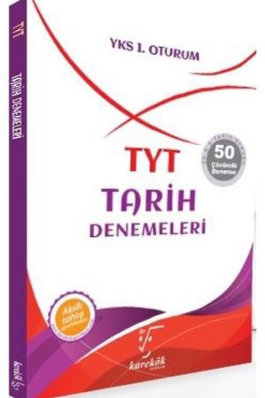 TYT Tarih Denemeleri Denemeleri Karekök Yayınları