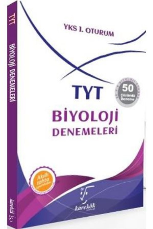 TYT Biyoloji Denemeleri Karekök Yayınları