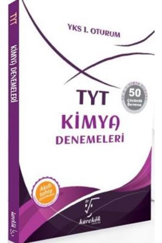 TYT Kimya Denemeleri Karekök Yayınları