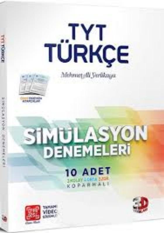 Çözüm Yayınları TYT Türkçe Simülasyon Denemeleri