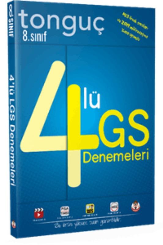 Tonguç Akademi Yayınları  LGS  4 Deneme