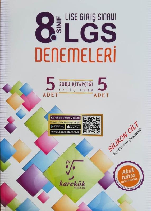 Karekök LGS Liselere Giriş Sınavı 5 Deneme