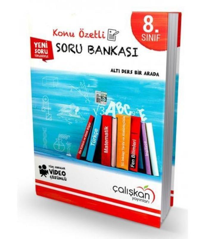 8.Sınıf Tüm Dersler Konu Özetli Soru Bankası Çalışkan Yayınları