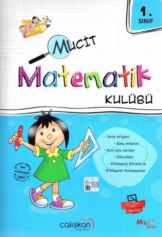 1.Sınıf Mucit Matematik Kulübü Çalışkan Yayınları