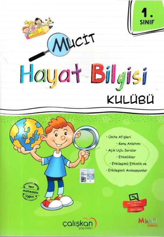 1.Sınıf Mucit Hayat Bilgisi Kulübü Çalışkan Yayınları