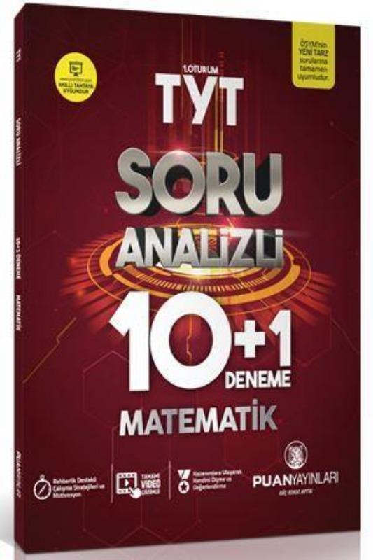 Puan Yayınları TYT Matematik Soru Analizli 10 Artı 1 Deneme