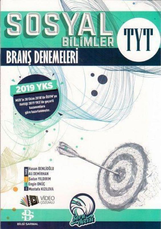 TYT Sosyal Bilimler Branş Deneme Bilgi Sarmal Yayınları