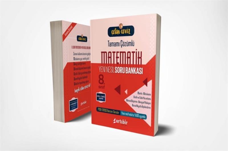 Çetin Ceviz 8. Sınıf Matematik Soru Bankası Artı Bir Yayınları