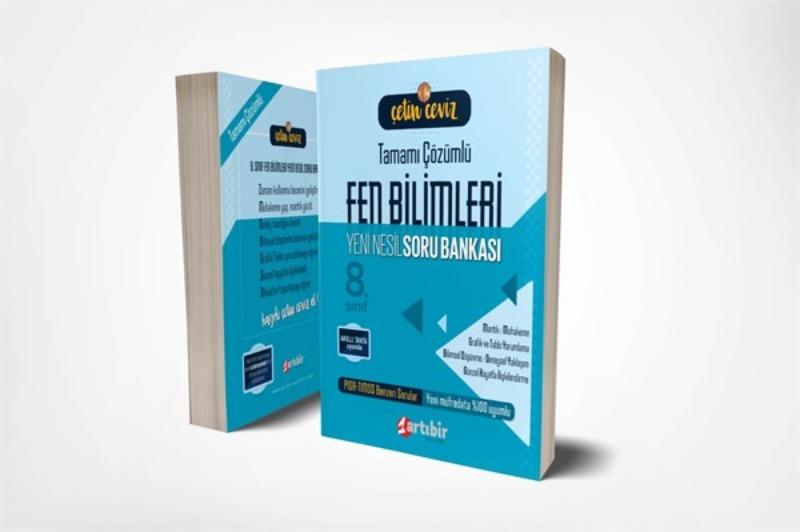 Çetin Ceviz 8.Sınıf Fen Bilimleri Soru Bankası Artı Bir Yayınları