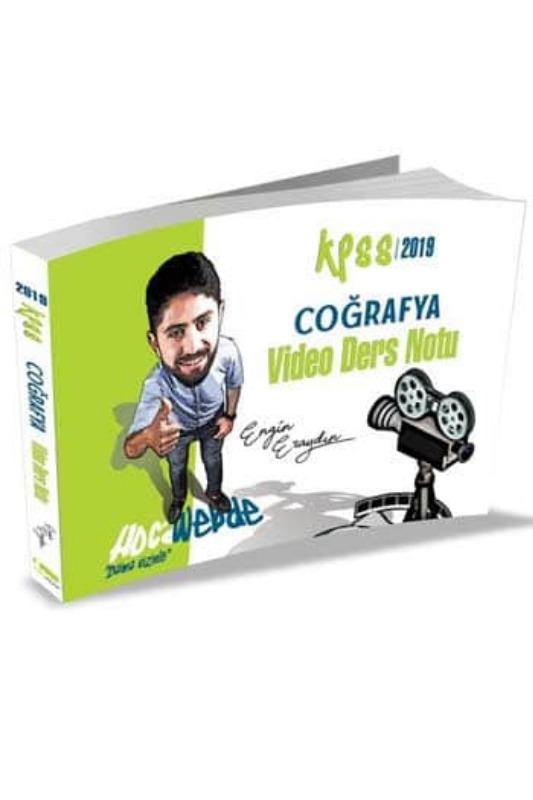 HocaWebde Yayınları 2019 KPSS Coğrafya Video Ders Notu