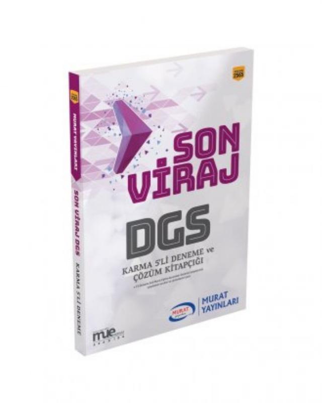 DGS Son Viraj Karma 5li Deneme Seti ve Çözümleri Murat Yayınları