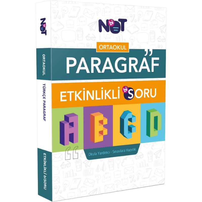 Binot Yayınları Ortaokul Türkçe Paragraf Etkinlikli BiSoru