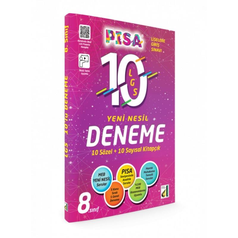 Damla Yayınları PISA LGS 10Lu Yeni Nesil Deneme
