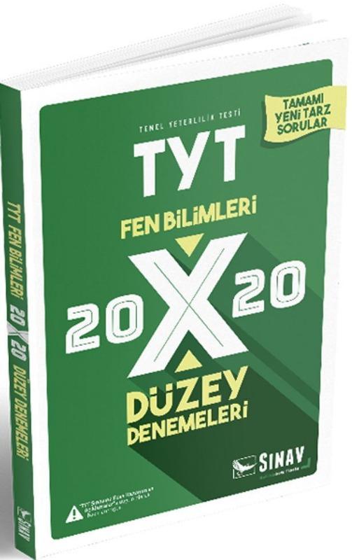 Sınav Yayınları TYT Fen Bilimleri 20x20 Düzey Denemeleri