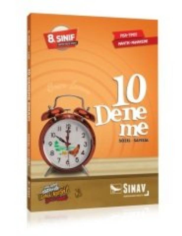 Sınav Yayınları 8. Sınıf Sözel Sayısal 10 Deneme