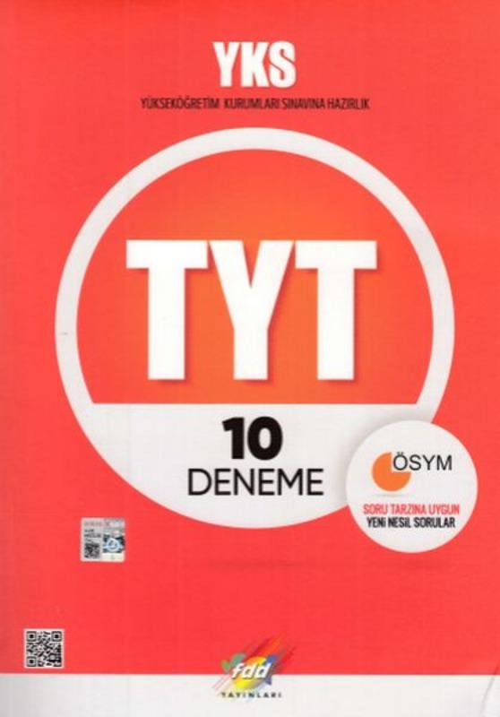 FDD Yayınları TYT 10 Deneme