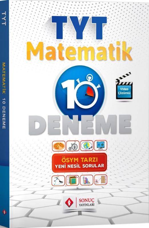 Sonuç Yayınları TYT Matematik 10 Deneme