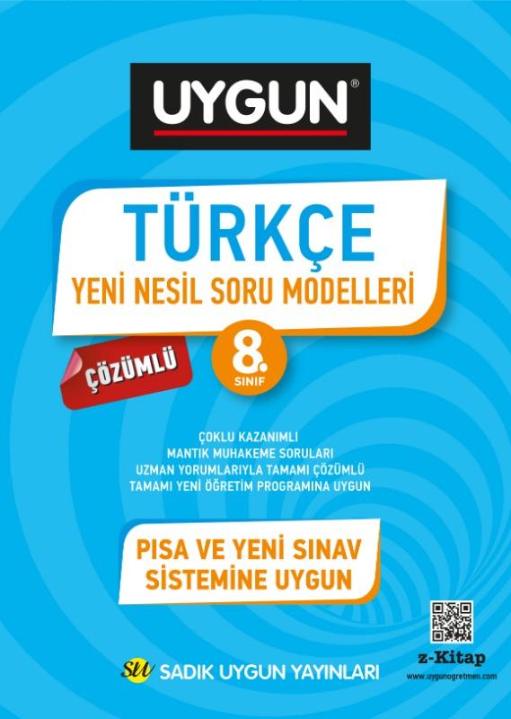 Sadık Uygun Yayınları Türkçe Üst Düzey Soru Modelleri 8.Sınıf