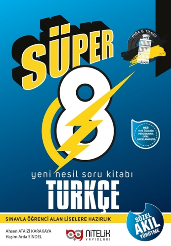 8.Sınıf Türkçe Soru Bankası Yeni Nesil Nitelik Yayınları