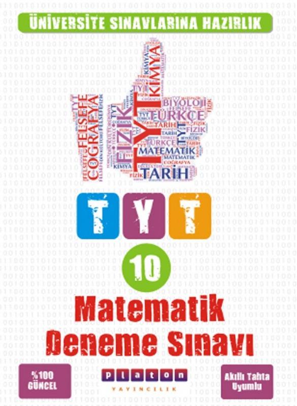 Platon Yayınları TYT Matematik 10 Deneme Sınavı