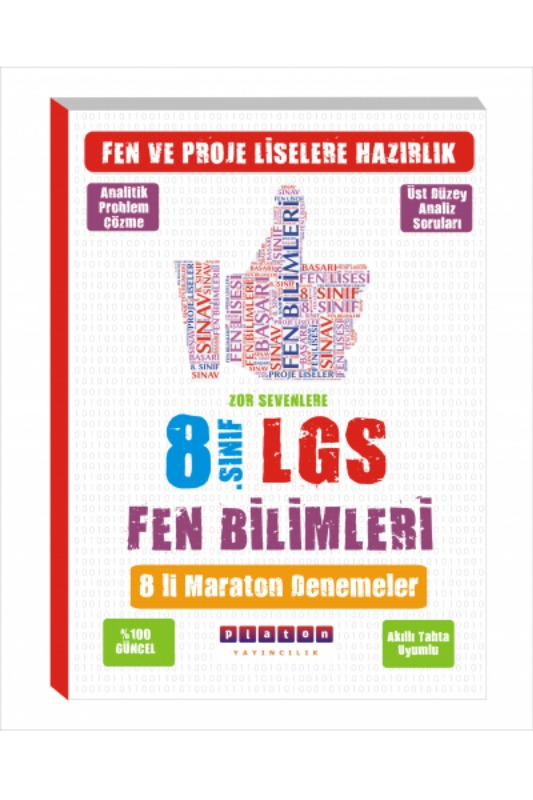 Platon Yayınları LGS Matematik Maraton Yeni Nesil Deneme Sınavı