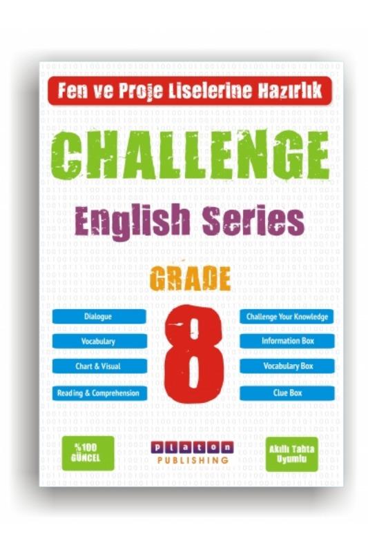 Platon Yayınları 8. Sınıf Challenge Englısh Series Grade