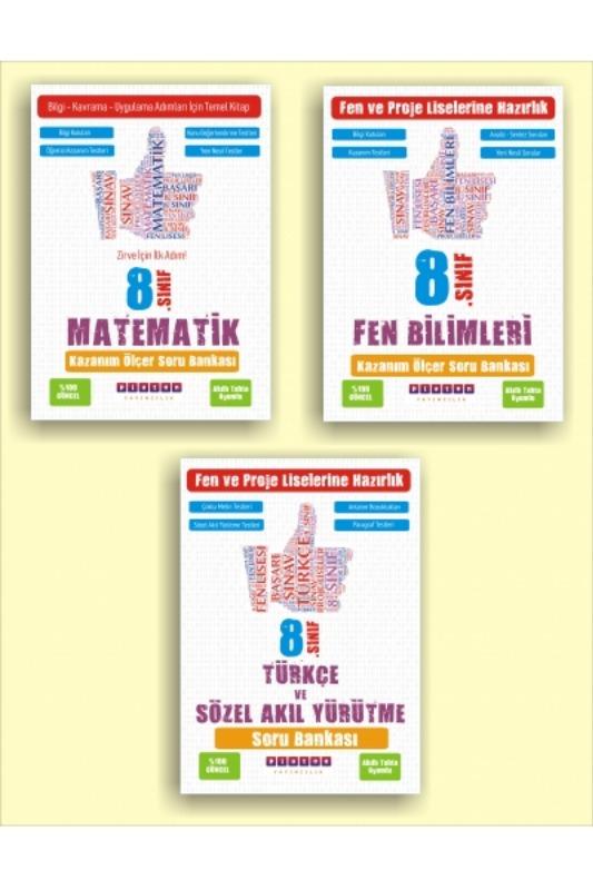 Platon Yayınları Lgs Temel Set Matematik Fen Türkçe