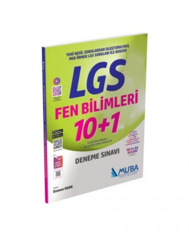 LGS Fen Bilimleri 10+1 Deneme Sınavı Muba Yayınları