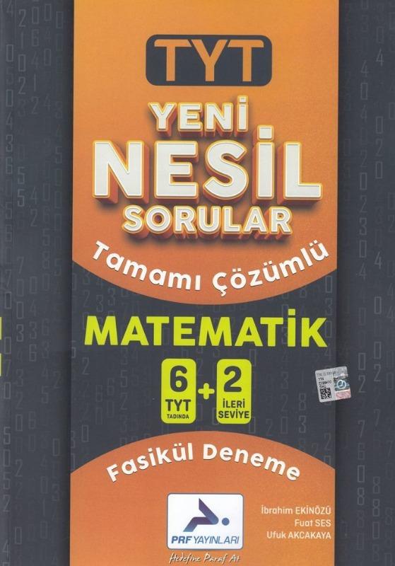 Paraf Yayınları Yeni Nesil TYT Matematik 6+2 Fasikül Deneme