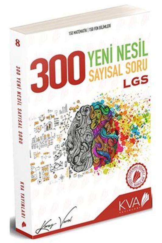 KVA LGS 300 Yeni Nesil Sayısal Soru KVA Yayınları