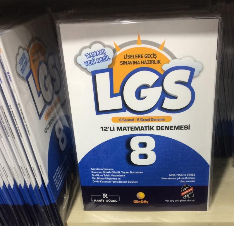 8. Sınıf LGS 12 li Matematik Denemesi Raşit Güzel