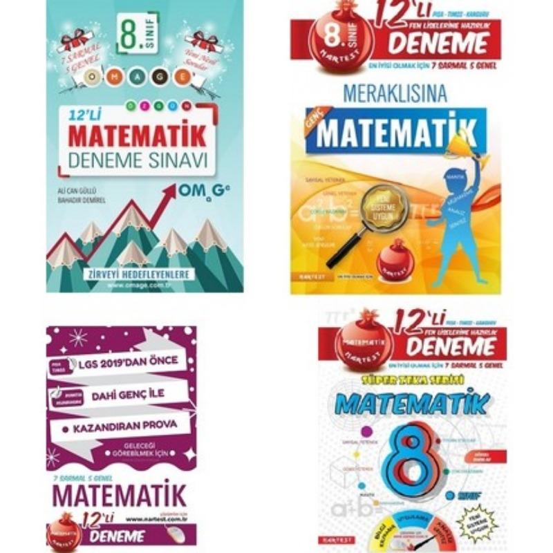 Nartest Yayınları 8. Sınıf Lgs Matematik Deneme SET