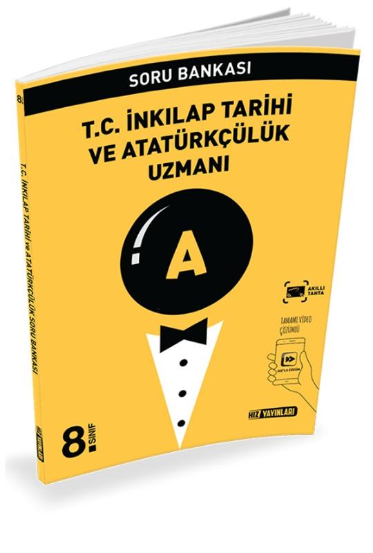 8.Sınıf TC İnkilap Tarihi ve Atatürkçülük Uzmanı Hız Yayınları