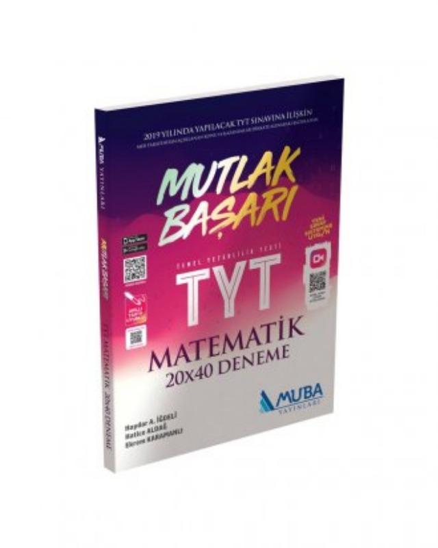 TYT Mutlak Başarı Matematik 20x40 Deneme Muba Yayınları