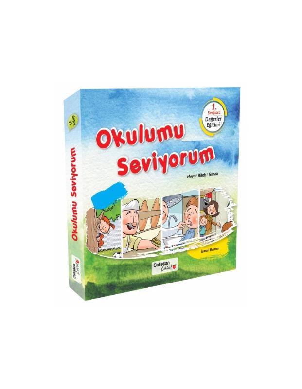 Okulumu Seviyorum Seti 10 Kitap  İsmail Burhan  Çalışkan Yayınları