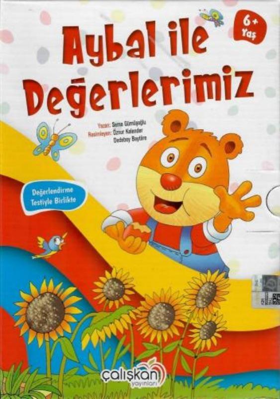 Aybal ile Değerlerimiz Seti 10 Kitap  Sema Gümüşoğlu Çalışkan Yayınları