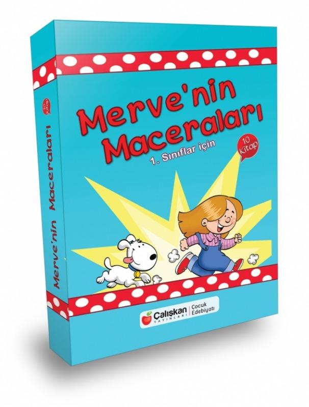 Merve'nin Maceraları Seti 10 Kitap  Şengül Asal  Çalışkan Yayınları