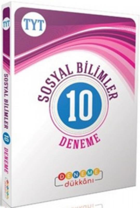 Başat Yayınları TYT Sosyal Bilimler Deneme Dükkanı 10 Deneme